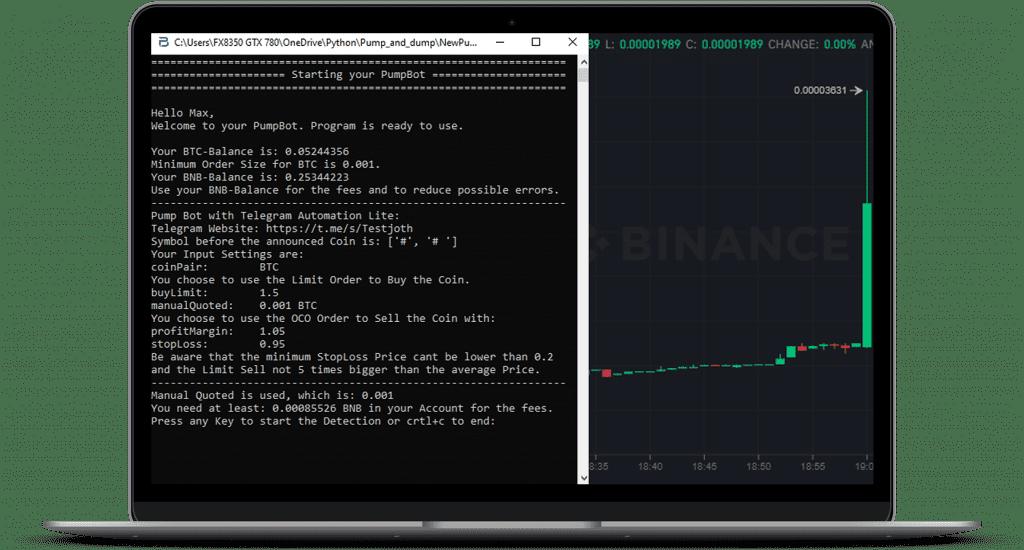 Binace Pump Bot
